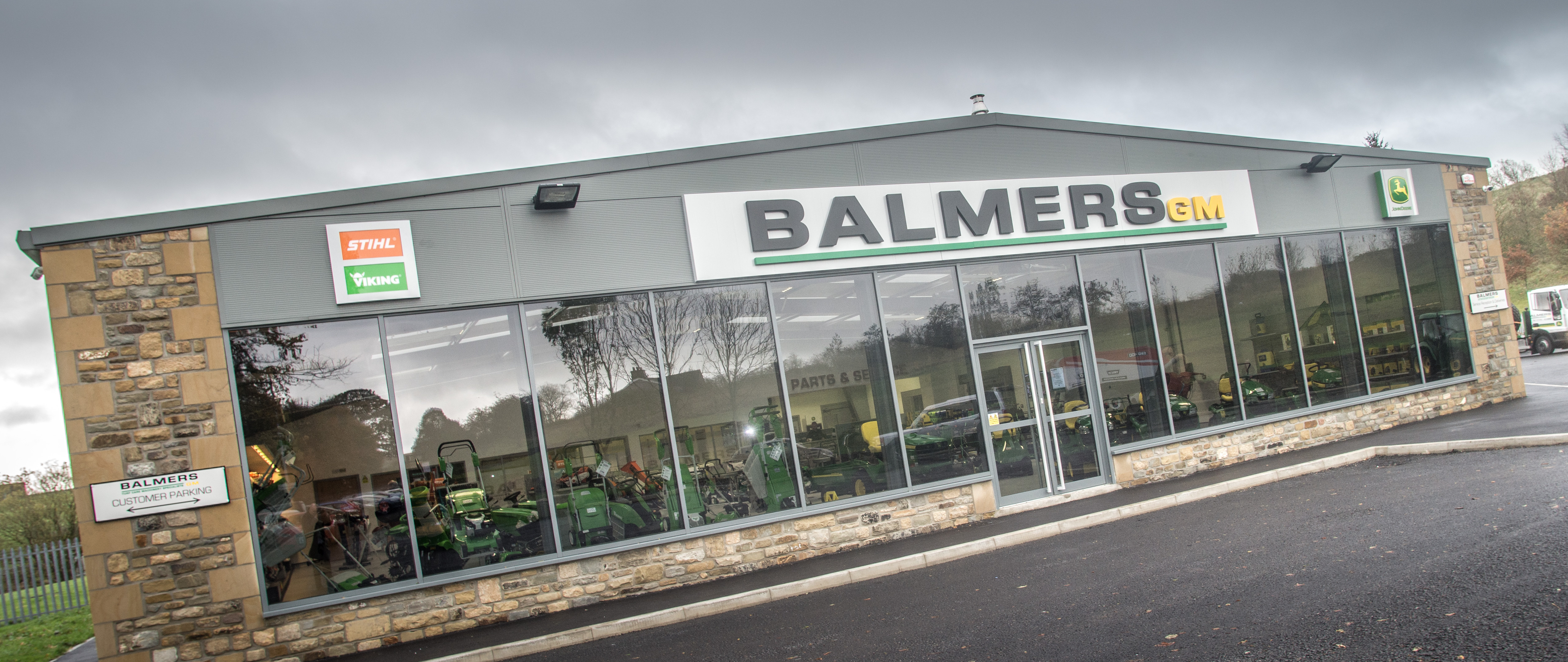 Balmers GM Ltd - Burnley Depot