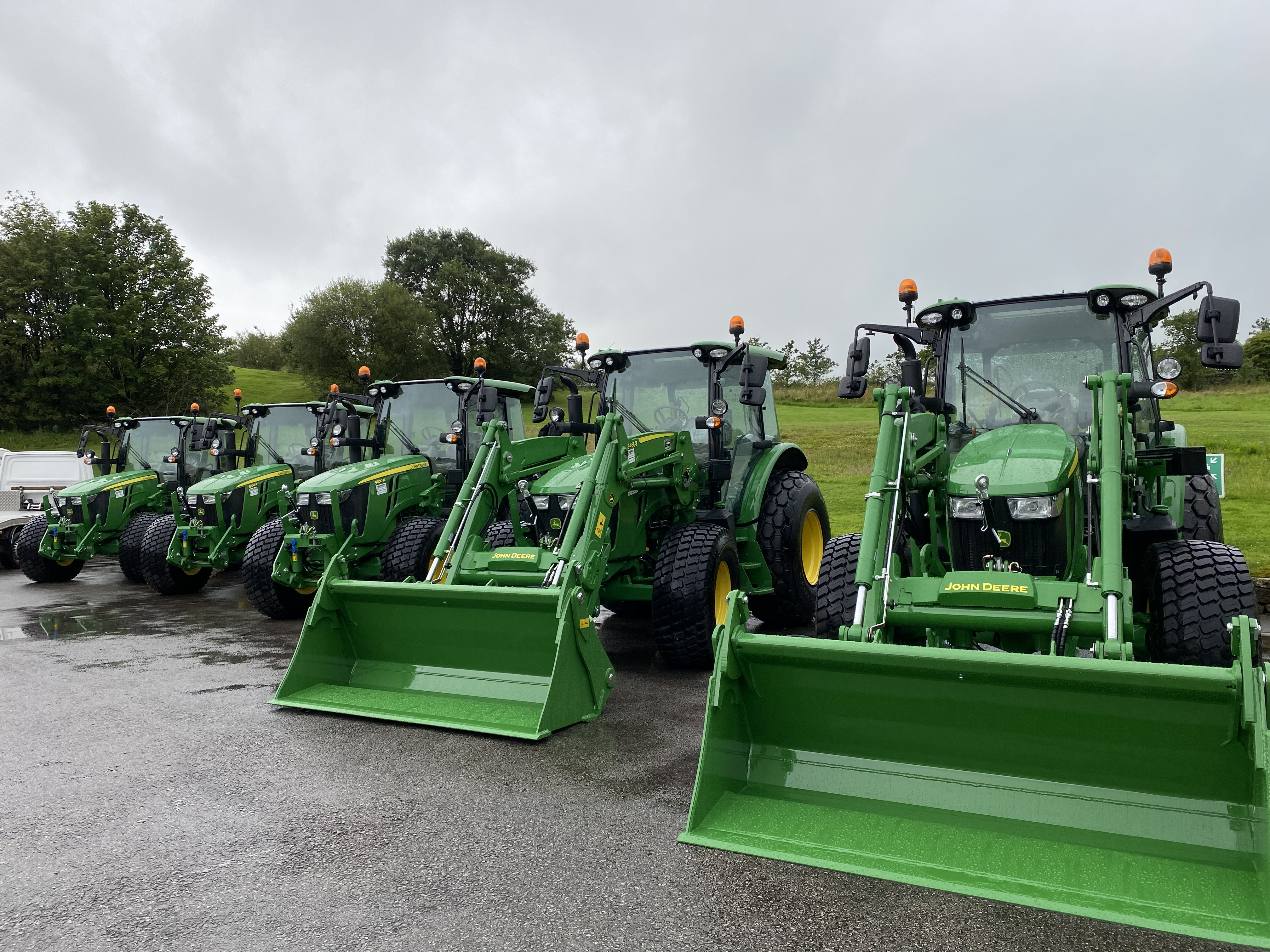 New John Deere 5100R Tractors for Local Authority