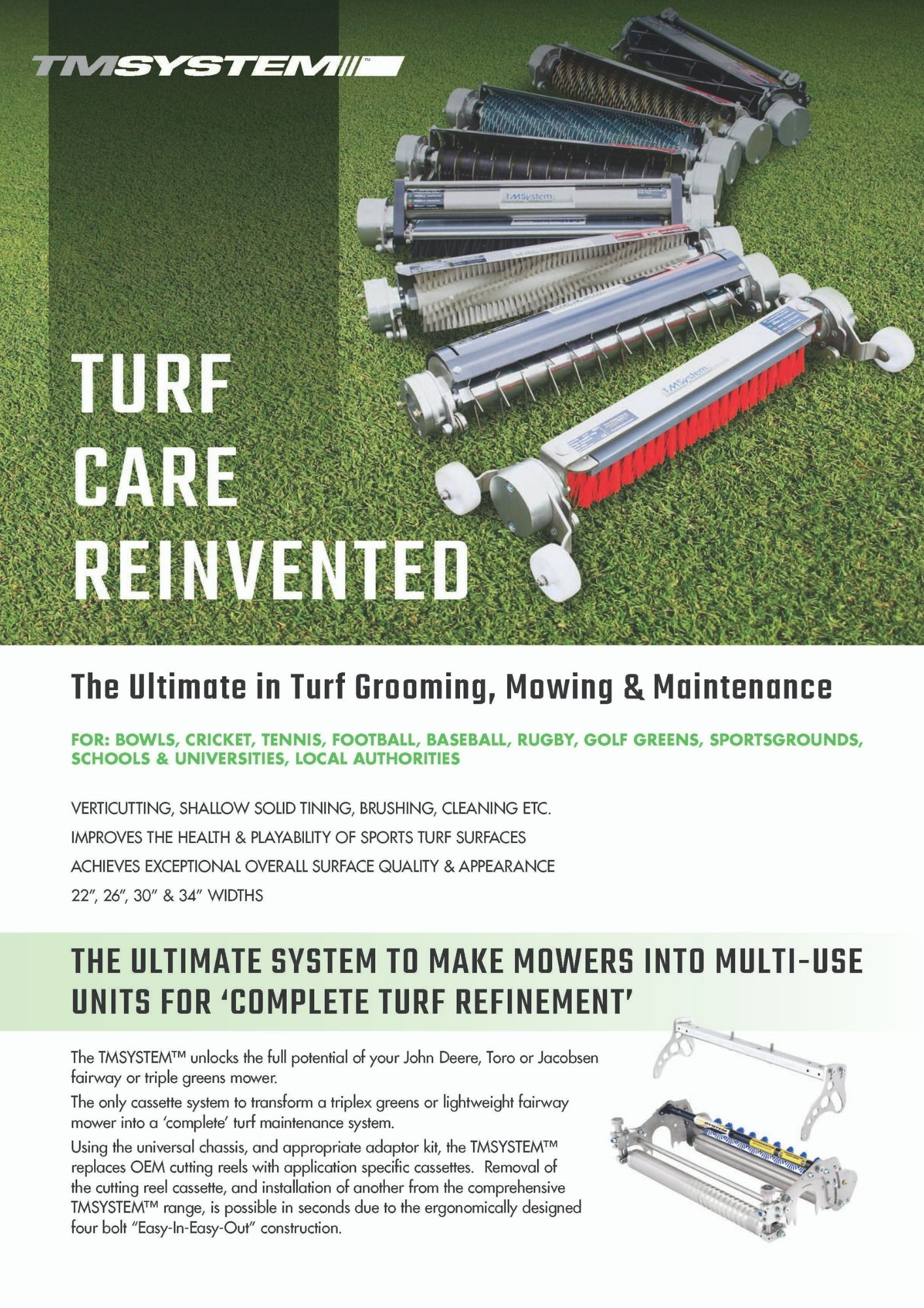 TMSYSTEM™ - Turf Care Reinvented