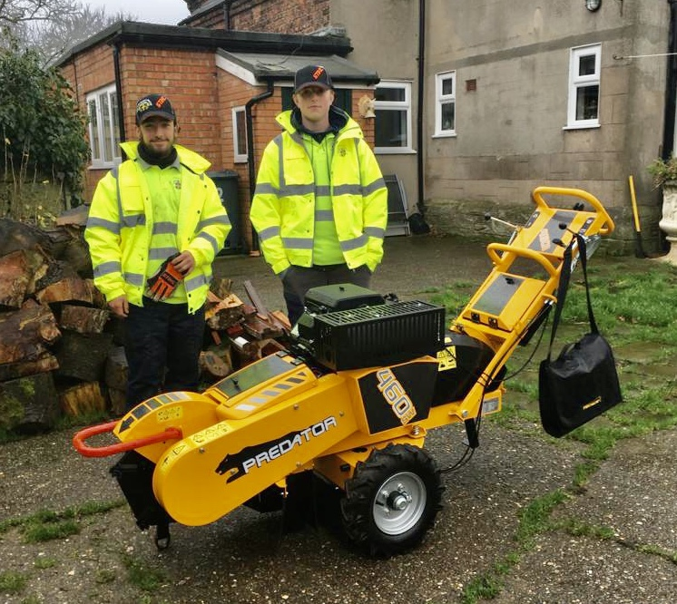 Predator 460 Stump Grinder Sold to the Wirrall