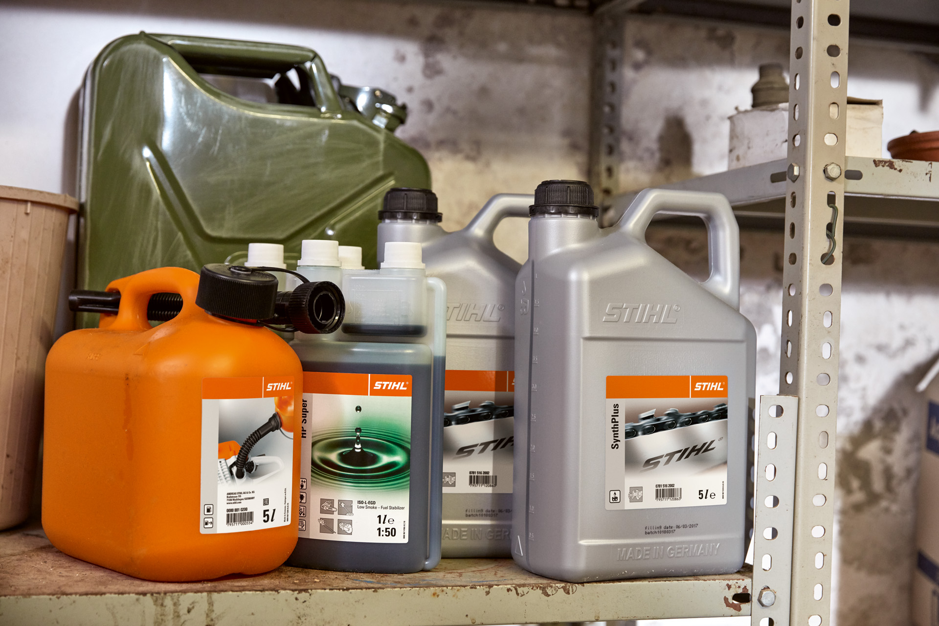How to store your petrol machines this Winter