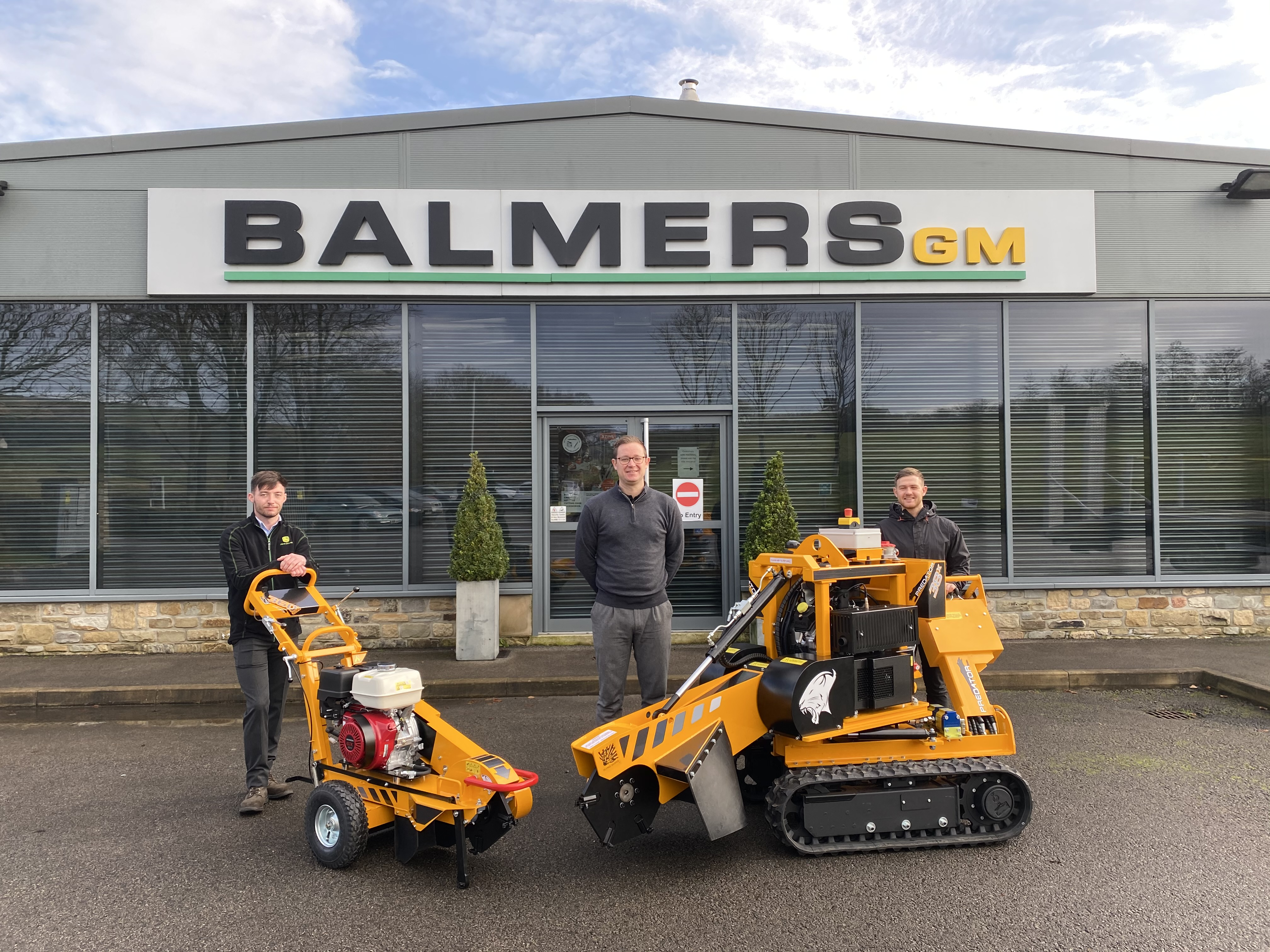 Balmers GM & Predator Stump Grinder Announce Partnership