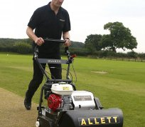 Allett - Fine Sports Turf Mowing Machinery
