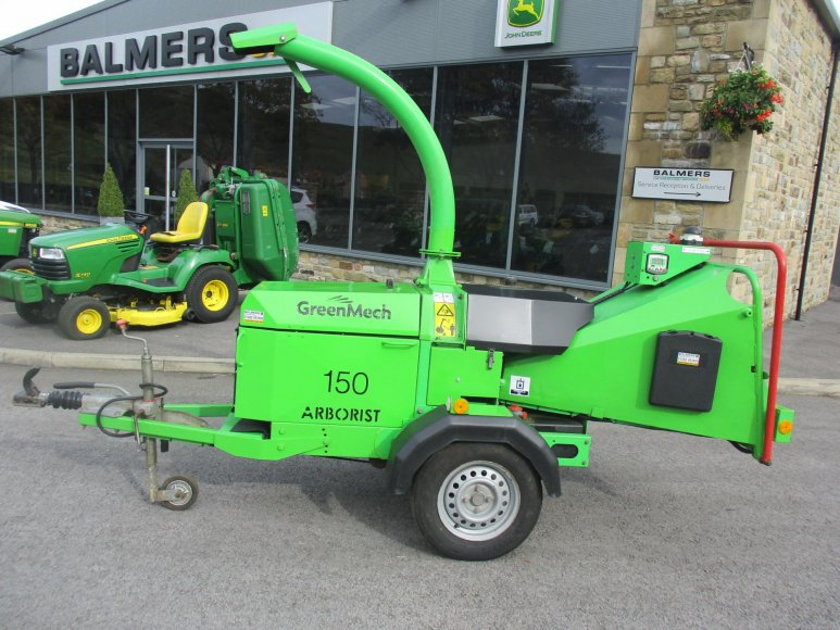 "Greenmech Arborist 150 / 6"" wood chipper"