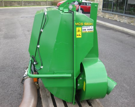 John Deere MCS580H Grass Collector