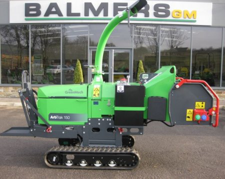 Greenmech ArbTrak Wood Chipper