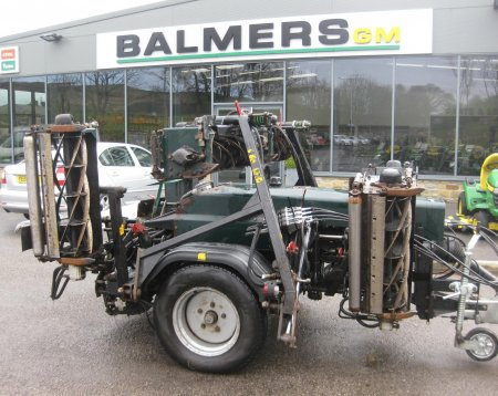 Hayter TM749 Trailed Gang Mower