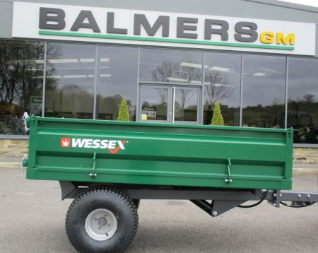 NEW Wessex 1.25T Tipping Trailer