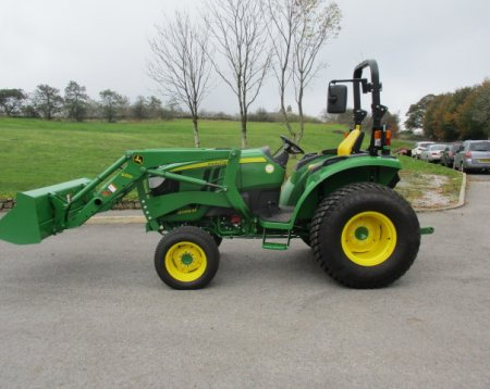 John Deere 4066M Tractor and Loader