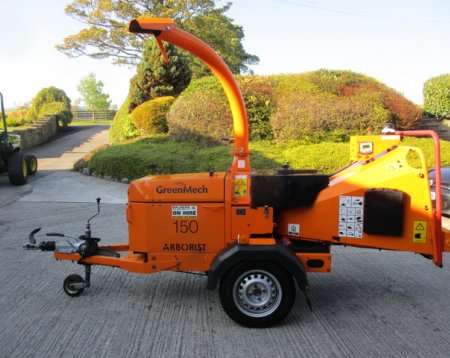 Greenmech Arborist 150 Wood Chipper