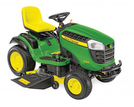 John Deere X166 Ride On Mower