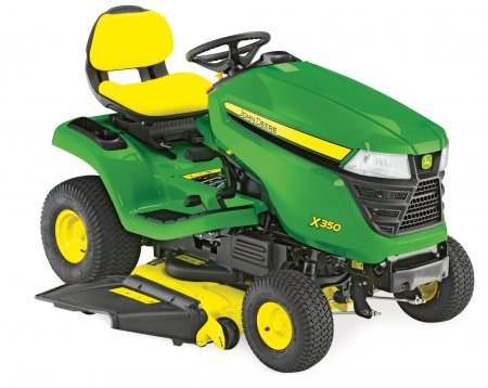 "John Deere X350 - 42"" Mulch Deck Ride On Mower"